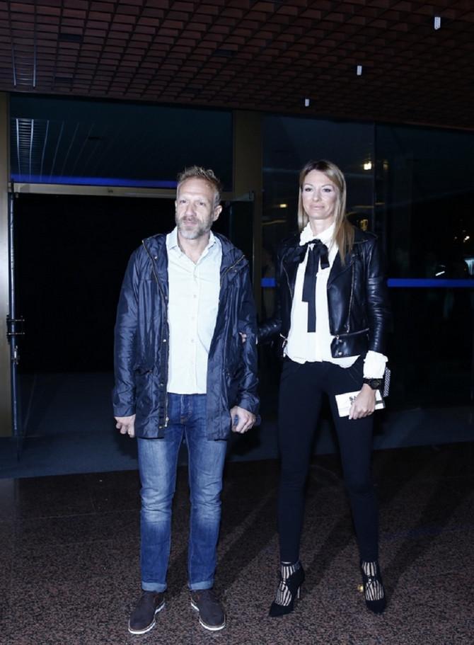 Milan Kalinić sa suprugom Aleksandrom u Sava centru