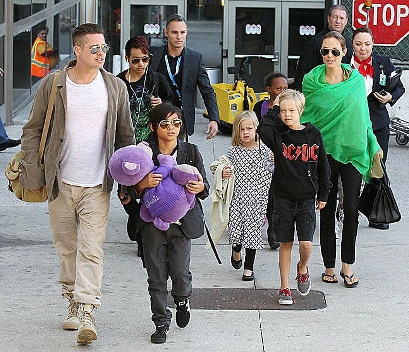 Rodzina Pitta i Jolie