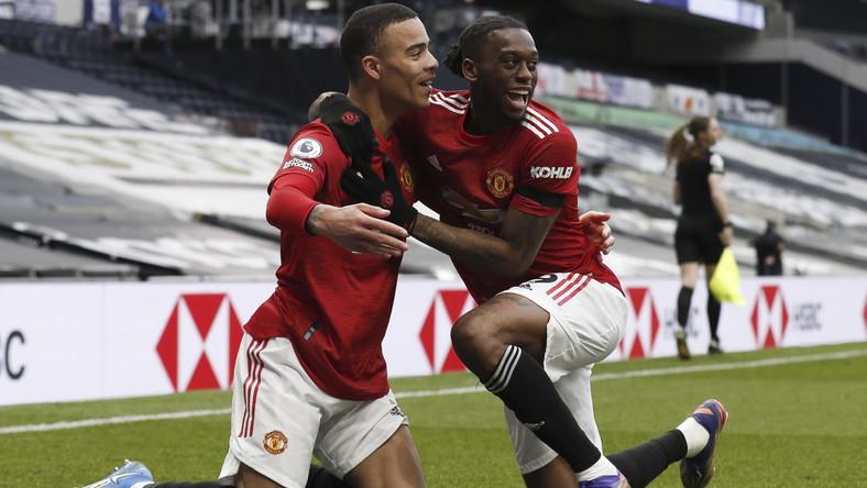 Mason Greenwood (z lewej) i Scott McTominay (Manchester United)