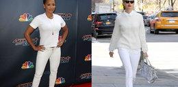 Której pani lepiej w bieli?