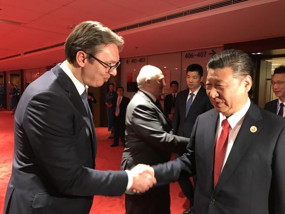 Danas sastanak sa predsednikom Kine Si Đipingom