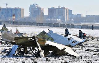 Katastrofa lotnicza w Rosji: Czarne skrzynki samolotu są uszkodzone