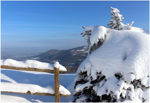 Zima w Ustroniu