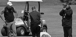 Śmierć na polu golfowym. Padł na murawę jak ścięty