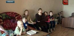 Ciężarna z piątką dzieci trafi na bruk i mróz