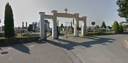 Demolował cmentarz, pomagała mu 14-latka