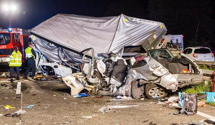 Tragiczny wypadek w Niemczech. Sprawcą Polak?