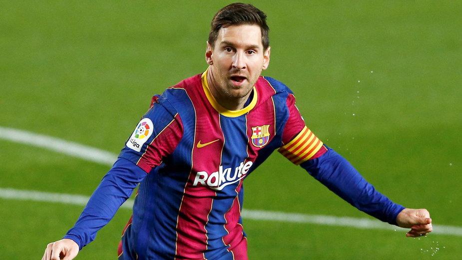 Leo Messi na razie nie może wystąpić w barwach Barcelony