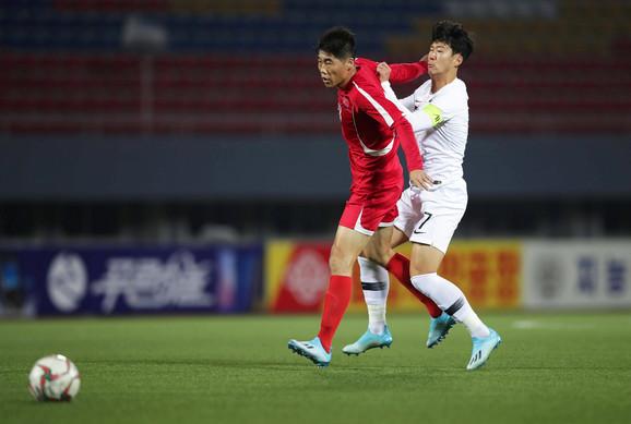 Fudbalska reprezentacija Severne Koreje, Fudbalska reprezentacija Južne Koreje