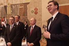Aleksandar Vučić, Vladimir Putin, Svečani ručak