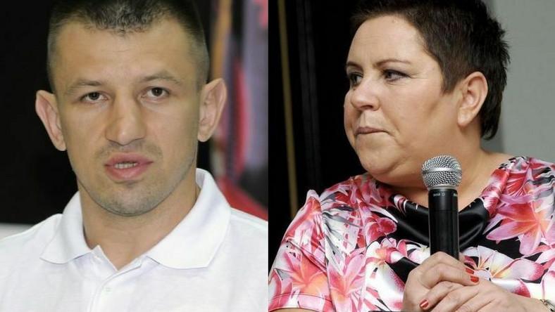 Tomasz Adamek, Dorota Wellman
