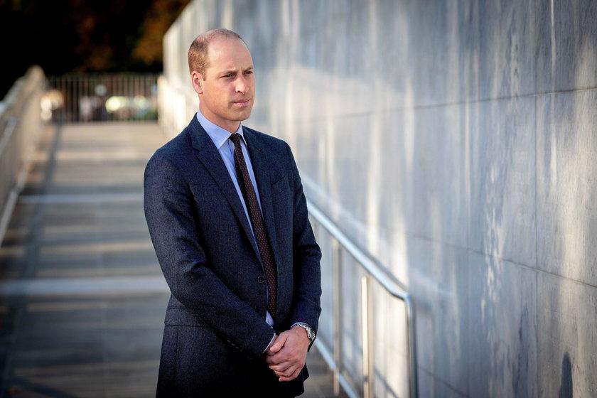 Książę William powiedział o tragedii z dzieciństwa