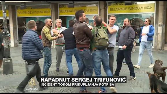 Napad na Sergeja Trifunovića