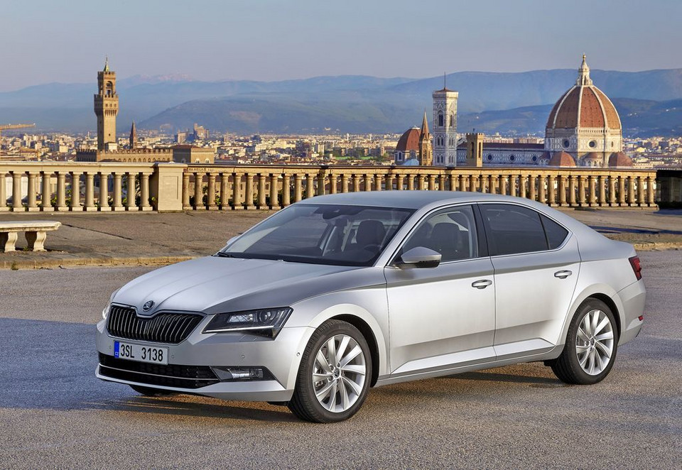 Skoda Superb MY2015