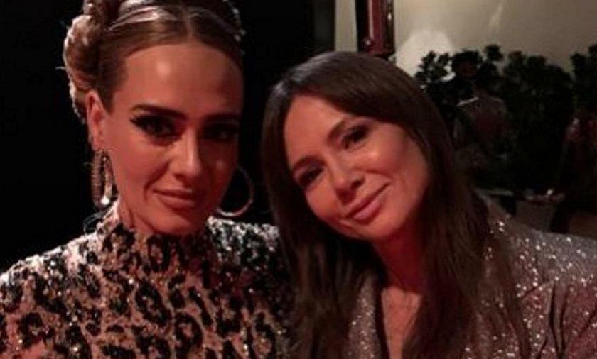 Adele i Kinga Rusin
