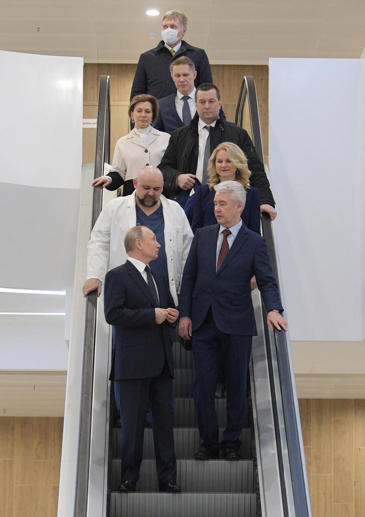 Sergej Sobjanjin Vladimir Putin