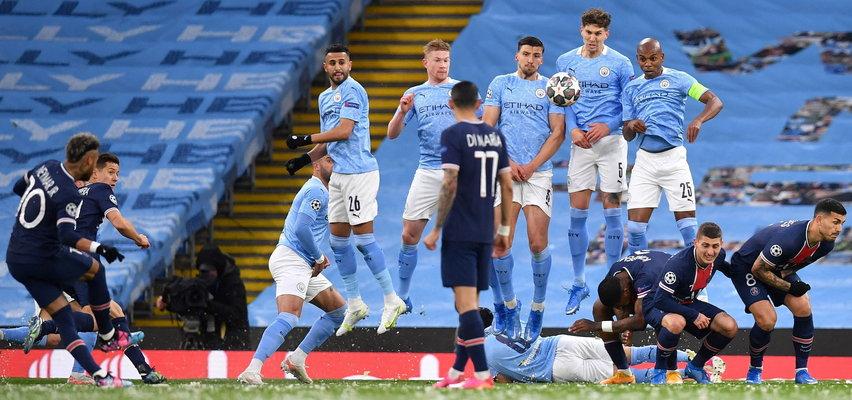 Manchester City w finale Ligi Mistrzów! Bezmyślne zachowanie gwiazdy PSG. WIDEO