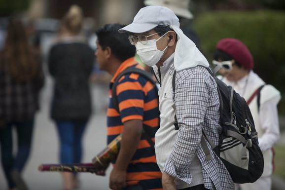 Zvaničnici su zatražili od građana da koriste maske