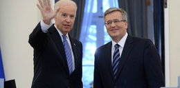 Biden i Komorowski: Rosja za to zapłaci