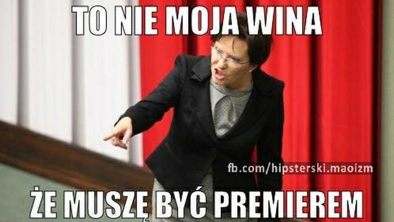 Ewa Kopacz zostanie premierem. Czy cieszy się z nowej funkcji?