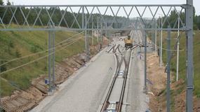Półmetek modernizacji odcinka Centralnej Magistrali Kolejowej