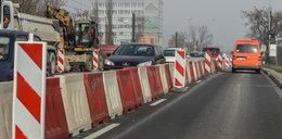 Utrudnienia w Łagiewnikach. Zwężona jezdnia i skrócone trasy tramwajów