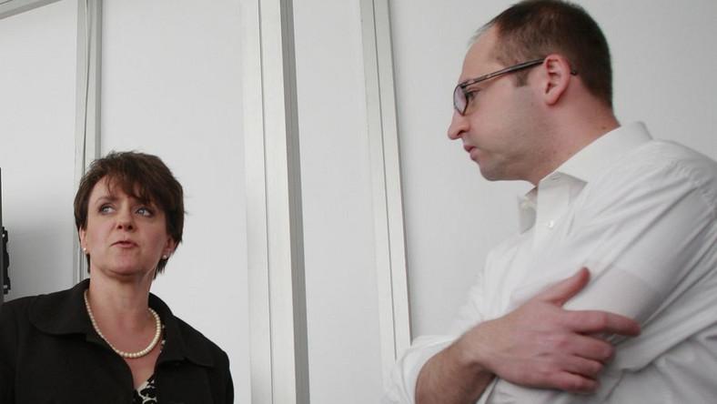 Joanna Kluzik-Rostkowska odpowiada Adamowi Bielanowi