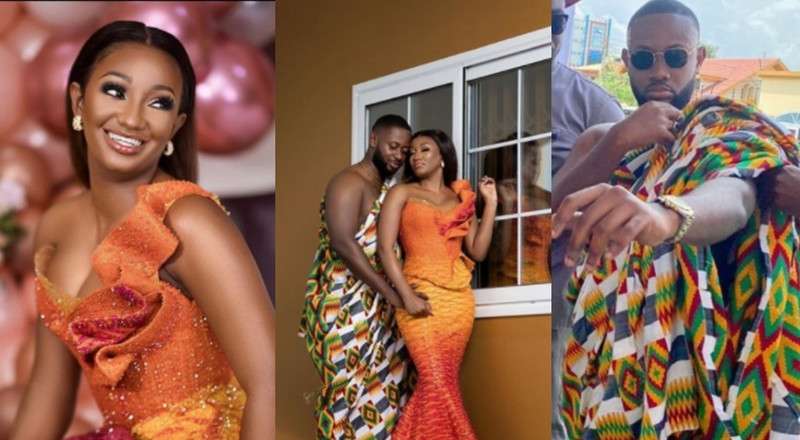 Check out beautiful photos from Ofori Sarpong's daughter's extravagant traditional wedding