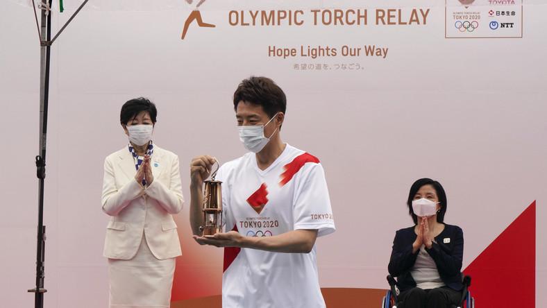 Sztafeta z ogniem olimpijskim dotarła do Tokio