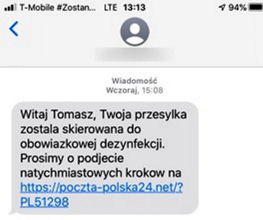 Uważaj! To nie Poczta Polska!