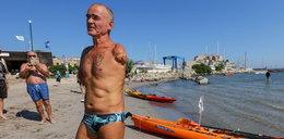 Szalone wyzwanie mężczyzny bez rąk. Chce przepłynąć Morze Śródziemne!