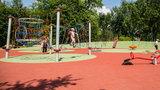 Nowy plac zabaw w parku Wodziczki