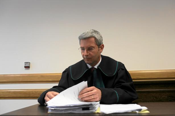 Adwokat Grzegorz Majewski, dziekan Okręgowej Rady Adwokackiej w Warszawie