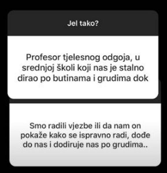 Zlostavljanje od strane profesora fizičkog vaspitanja