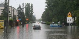Byle ulewa musi zawsze zatopić stolicę?