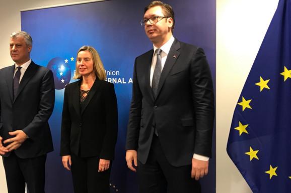 RAZGOVORI U BRISELU Vučić: Srbija ne može da ukine sebe da bi neko bio zadovoljan (VIDEO)