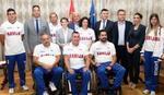Brnabić, Udovičić i Đorđević primili naše paraolimpijce: Vi ste ponos Srbije, Vlada će nastaviti da vam pomaže