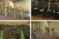 (UŽIVO) FORMIRANA VOJSKA KOSOVA Usvojeni zakoni, Albanci slave, Haradinaj: Vojnici i na jugu i na SEVERU (FOTO, VIDEO)