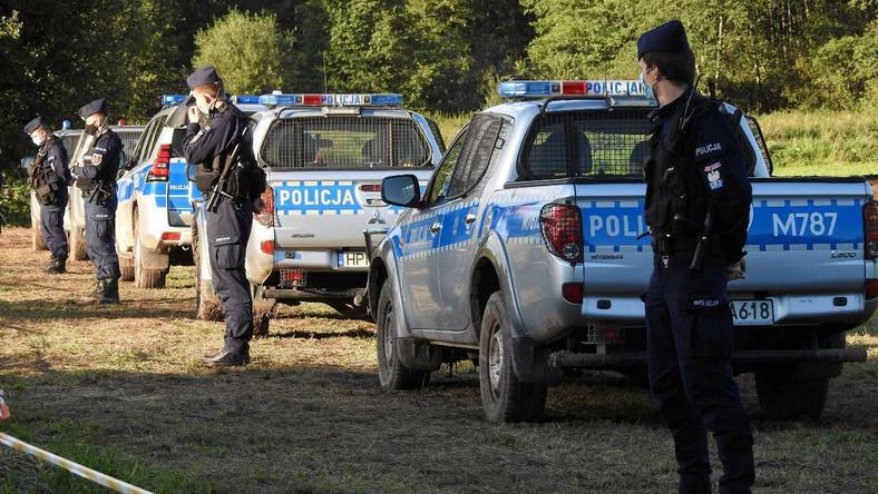 Policja w Usnarzu Górnym