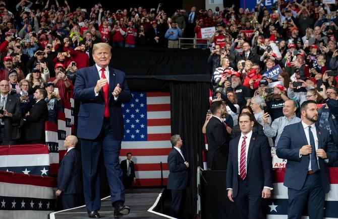 Donald Tramp nije po meri Megan Markl: američki predsenik u predsedničkoj kampanji pre nekoliko dana u Ohaju
