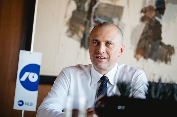 Blaž Brodnjak, predsednik Izvršnog odbora Nove Ljubljanske banke