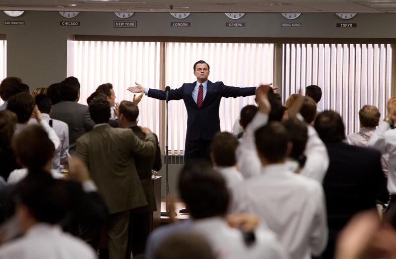 """""""Wilk z Wall Street"""" Leonardo DiCaprio"""