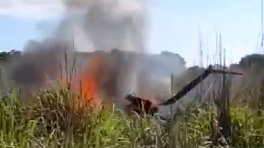 Katastrofa samolotu z brazylijskimi piłkarzami. Są ofiary