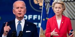 """Wymowne słowa szefowej KE o Joe Bidenie. """"Po czterech długich latach mamy przyjaciela w Białym Domu"""""""