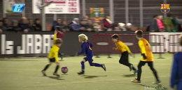 9-letni Polak jest najlepszy w Barcelonie. Ma większy talent od Messiego! Zobacz FILM