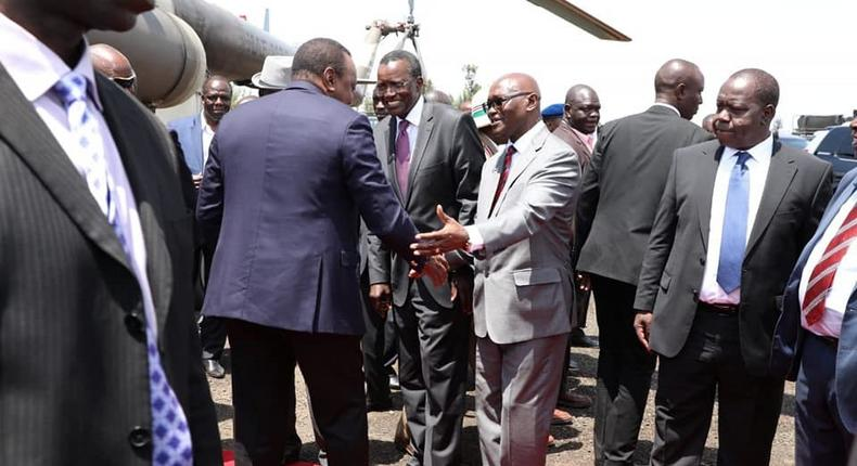 Chief Justice David Maraga criticised for accompanying Uhuru in launch of development projects in Kisii