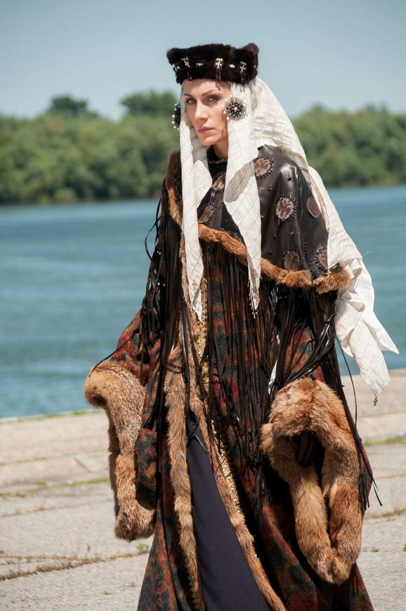 Jelena Gavrilović u ulozi Evdokije u seriji