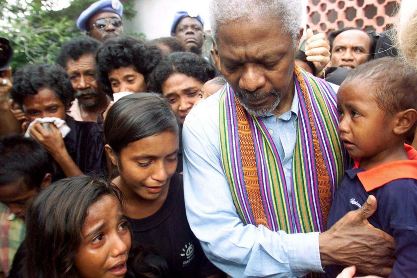 Kofi Annan nie żyje