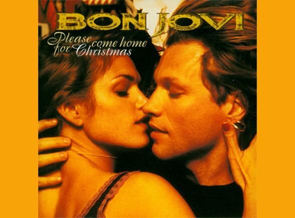 "Bon Jovi ""Please Come Home For Christmas"""