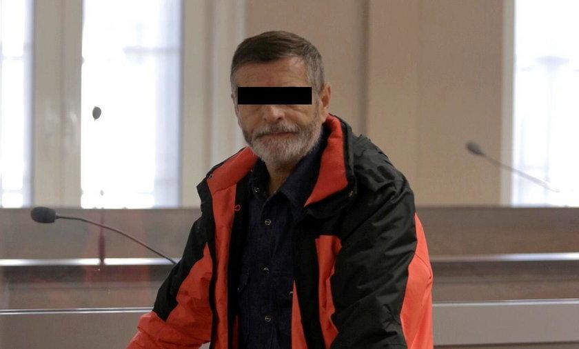 Ryszard B. (62 l.), oskarżony kierowca tira